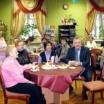 Чаепитие в День пожилого человека
