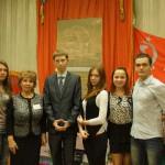 Встреча с депутатами в школьном музее 307 Гвардейского минометного полка ко дню Правовых знаний