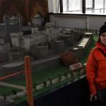 Макет крепости в парке-музее Этномир