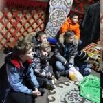 В жилище народов Сибири и Дальнего Востока в парке-музее Этномир