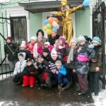 Четвероклассники приняли участие в отнрытии Арт-Наив парка