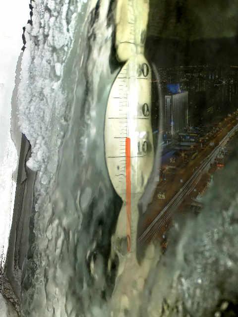 Термометр на морозе-m