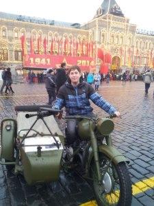 Знакомство с техникой времен войны на Красной площади