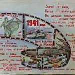 Плакат ко дню начала контрнаступления советских войск под Москвой