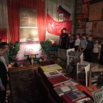 Минута молчания в школьном музее