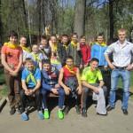 Участников Зарницы в честь 70-летия Победы ожидала замечательная погода в Перовском парке