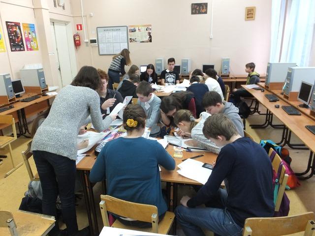 Работа над проектом увлекла учащихся