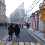 Реконструкция в центре Москвы